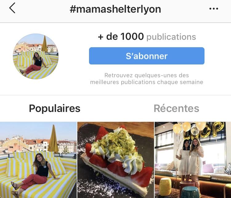 contenu instagram mama shelter